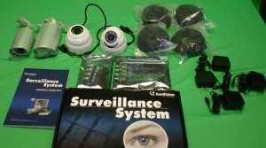 4 Camera Home Surveillance System :- home surveillance systems.