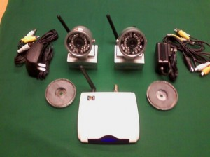 AgWatch 1-Camera Wireless Monitoring System Kit