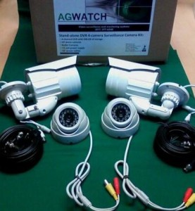 8-Camera DVR Farm & Ranch Surveillance System