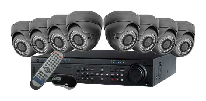 8 Camera Home Surveillance System