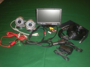 AgWatch 2 Camera Agricultural Monitoring System – Back Up Camera
