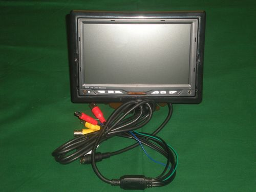 "7"" AgWatch Monitor-  3 Video Inputs/ 3 Power Outputs"