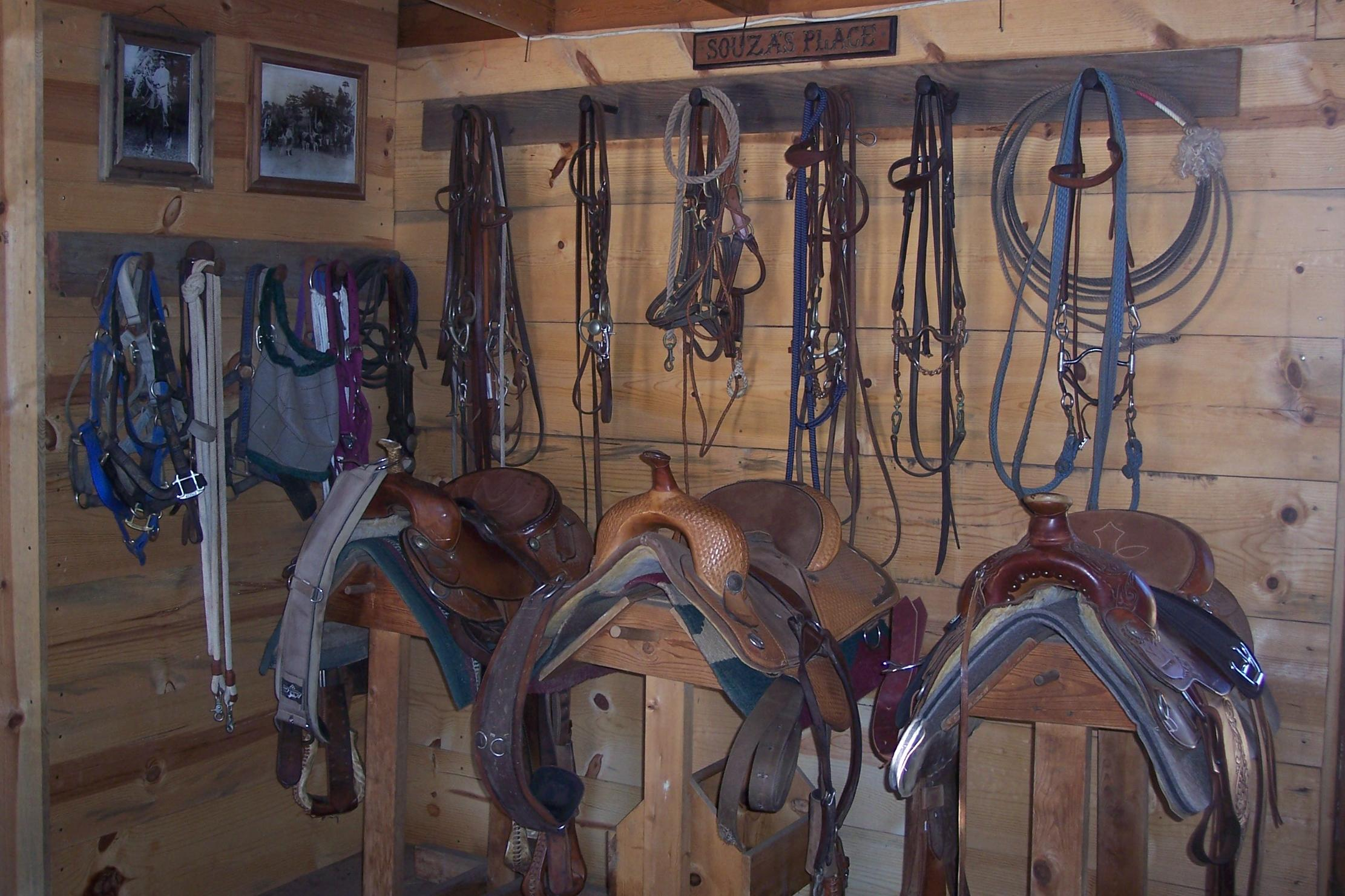 Tack Room And Out Building Applications AgCamera