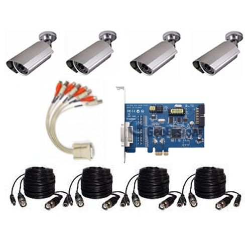 4 Camera PC KIT